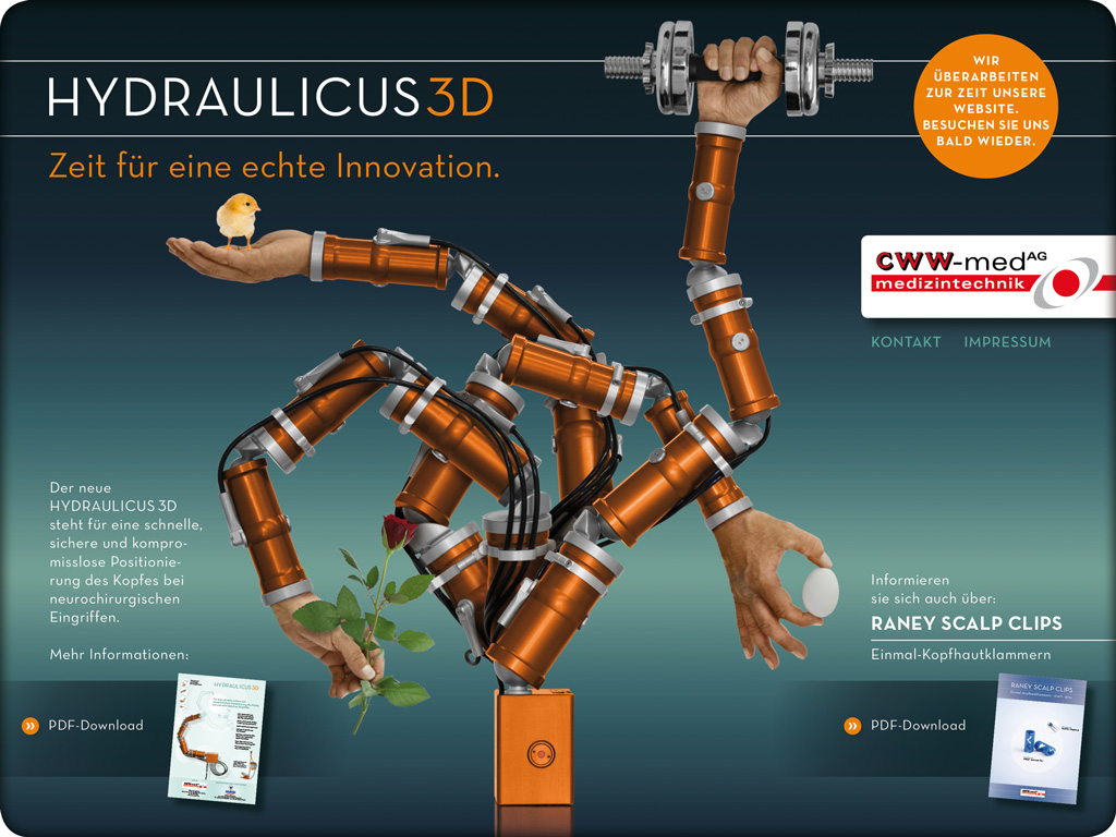 Hydraulicus 3D